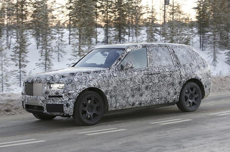 Rolls-Royce Cullinan teases formal debut with National Geographic film series
