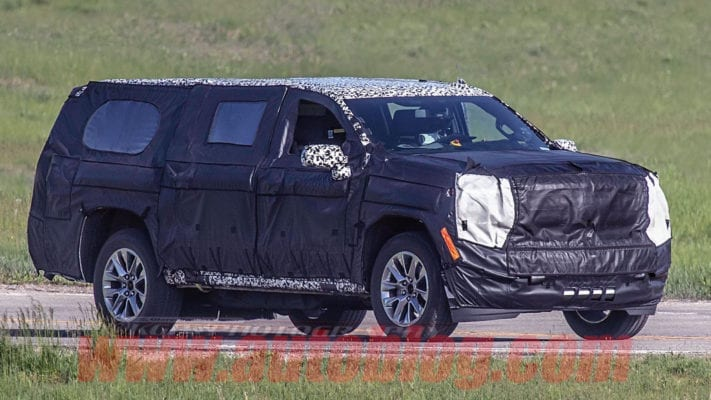 2020 Chevy Suburban Spied - Solid Rear Axle Gone, Better MPGs, New