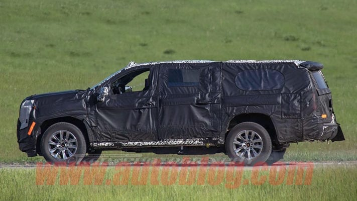 2020 Chevy Suburban Spied - Solid Rear Axle Gone, Better MPGs, New Engines