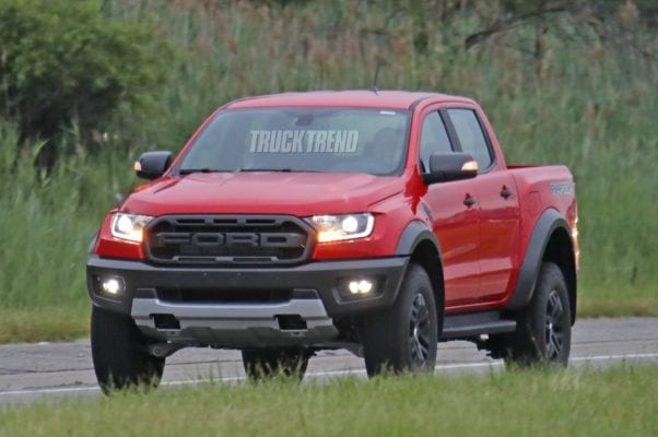 2020 Ford Ranger Raptor LHD Spied - Coming to America?