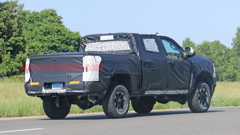 2020 Ram 2500 Power Wagon Spied - What We Know About It