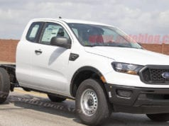 2019 Ford Ranger XL Work Pickup Spied - Bare Bones, No Bed