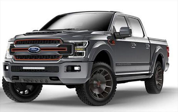 2019 Ford F-150 Harley-Davidson Special Edition Unveil