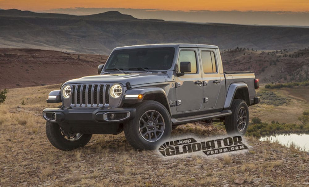 Jeep Brute Price >> New 2020 Jeep Gladiator Pickup Photos Leaked - Pickup ...