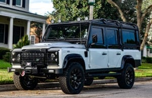E.C.D. Automotive Design's Project Katama Defender 100