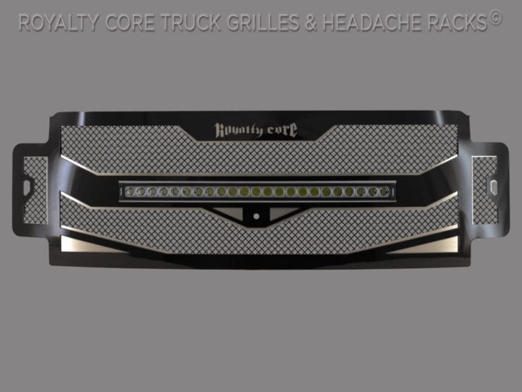Royalty Core Releases RC4X Stainless Steel Grille - Legal On-Road Light Bar