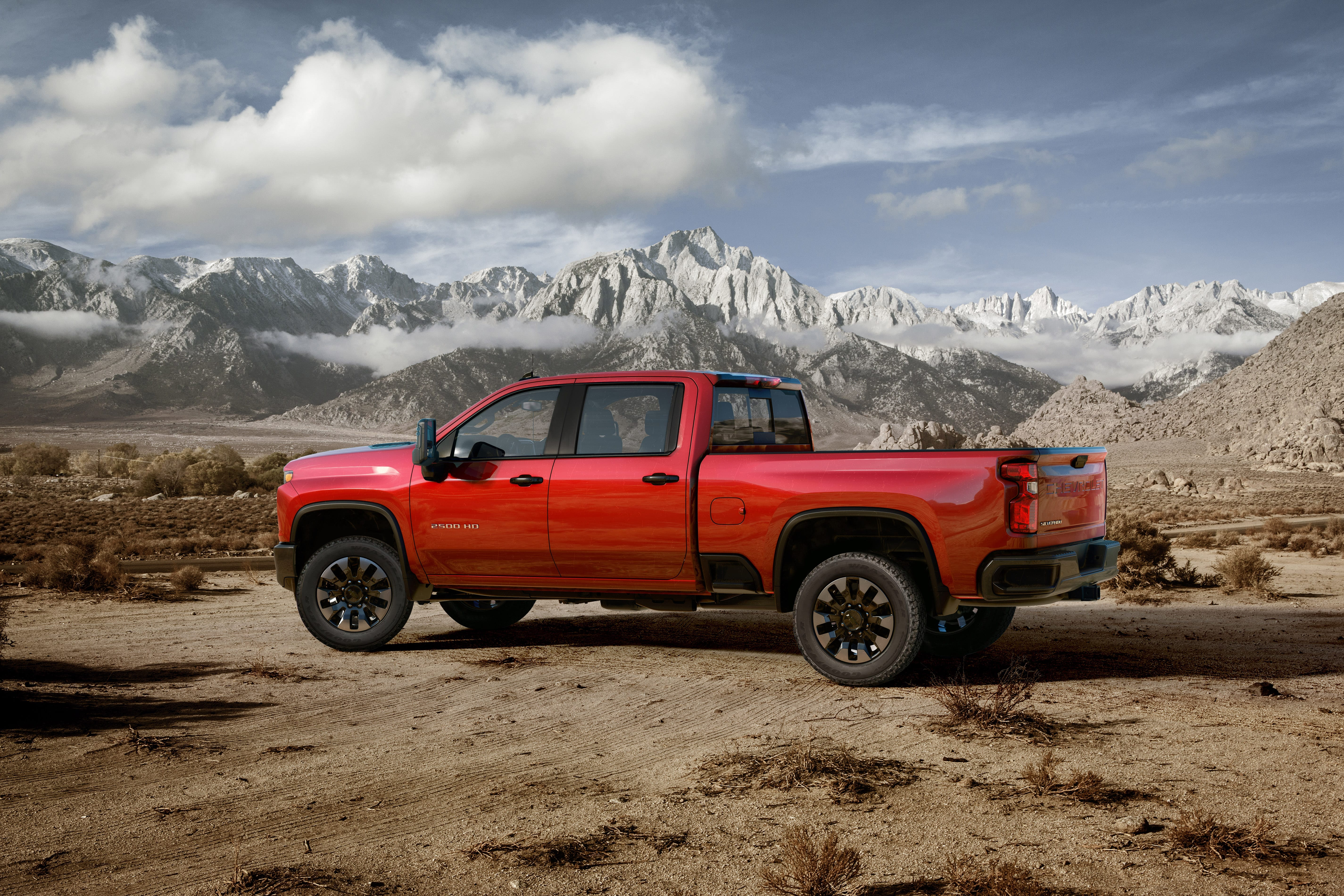 2020 Chevrolet HD 2500/3500 Trucks Revealed - Pickup Truck ...