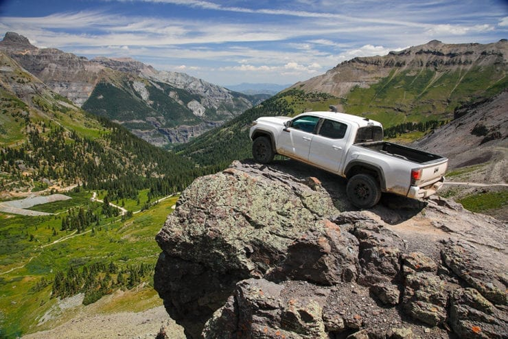 Three Days Tackling the Rimrocker Trail with 2019 Toyota TRD Pros