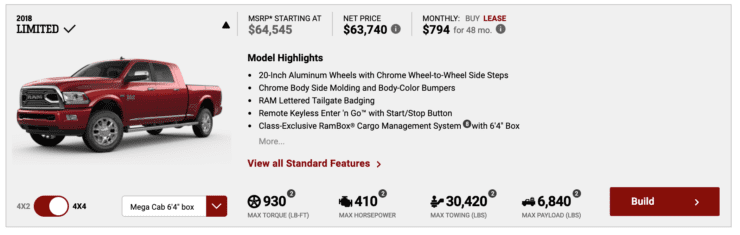 2019 Ram 2500, 3500 Pricing Announced - Small Increase for Base, Big Jump for Loaded