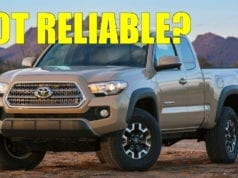 Toyota Tacoma Still Reliable? Powertrain Issues Plagued Reliability Scores