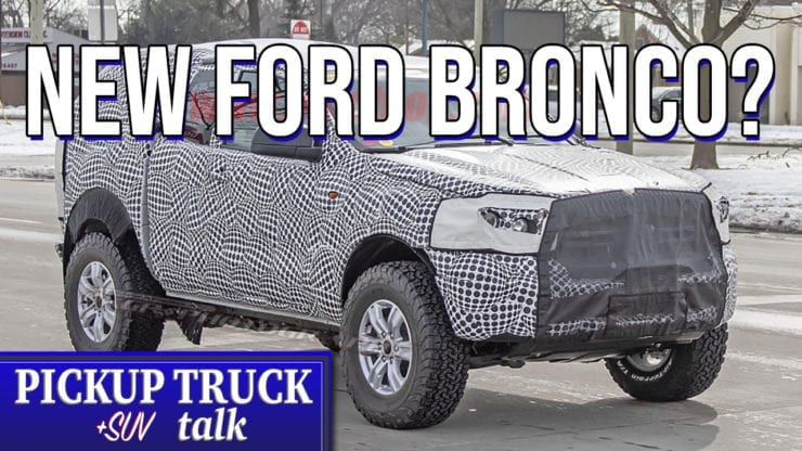 2020 Ford Bronco What To Expect Mule Spotted Testing Pickup