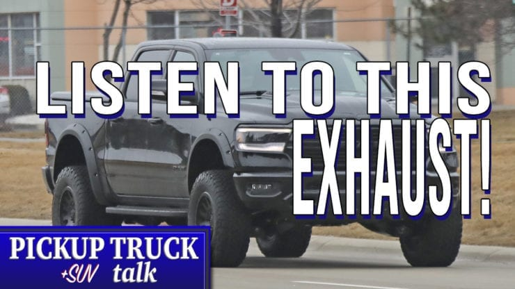 2020 Ram Rebel Trx Spied Testing With Video Of The Exhaust Note