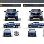 2021 Ford F-150 Exterior Series Differentiation