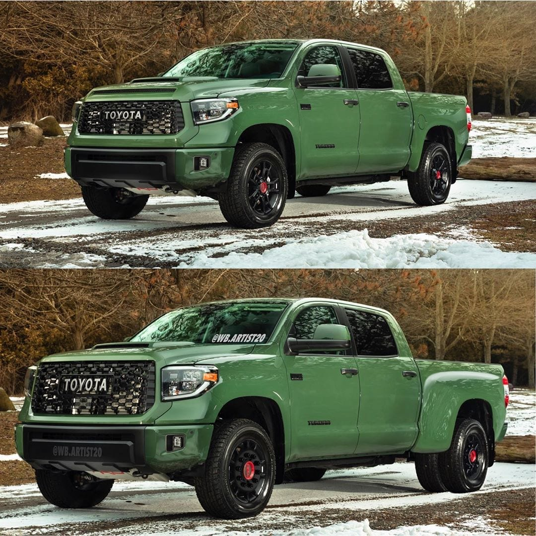 New rendering shows what Toyota Tundra Heavy Duty model could look like