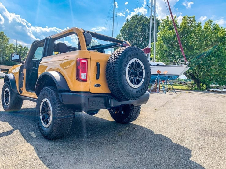 jeep wrangler owner considers Ford Bronco