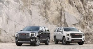 New features already? 2021 GMC Yukon AT4, SLE with new options offered