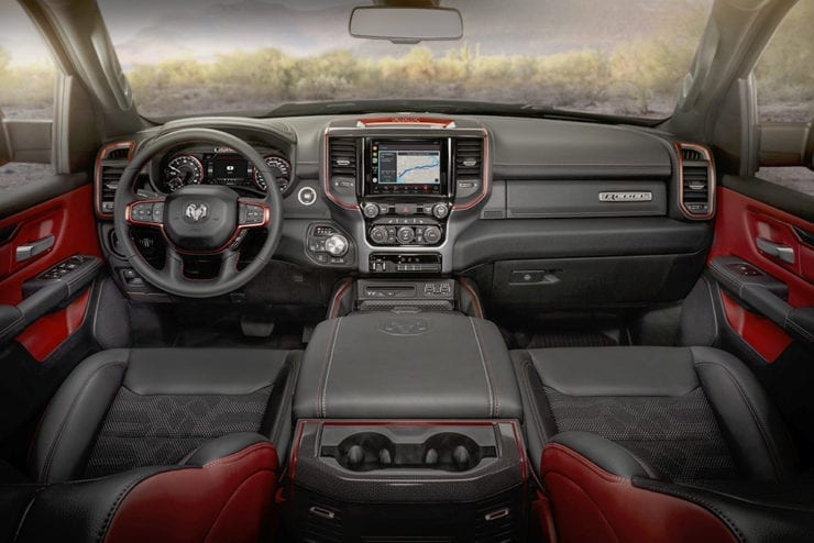 2021 Ram 1500 Rebel - Interior