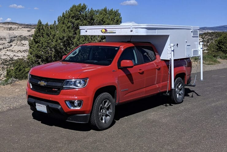 Chevy Colorado Slide-In Camper