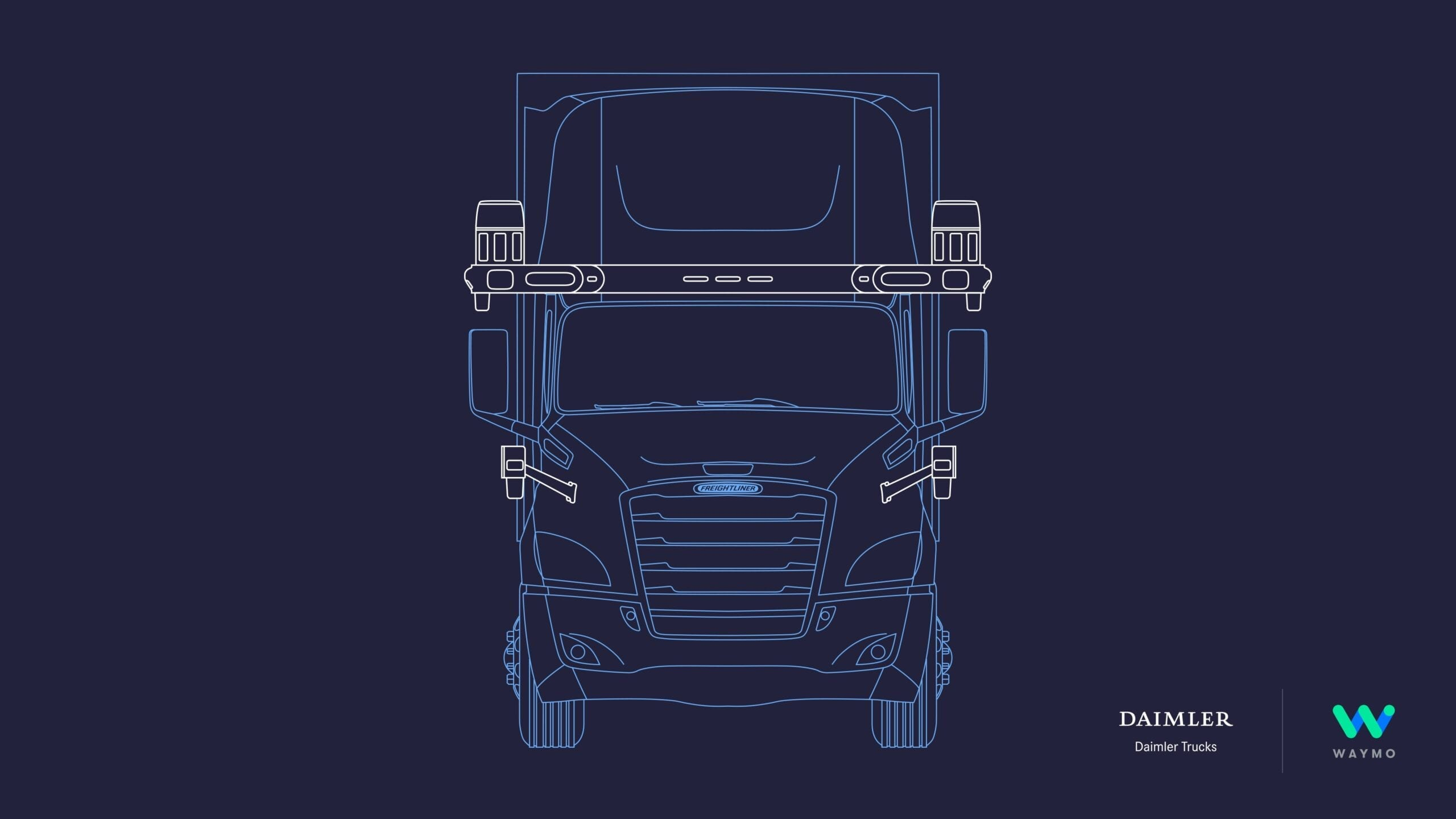 self-driving semi trucks