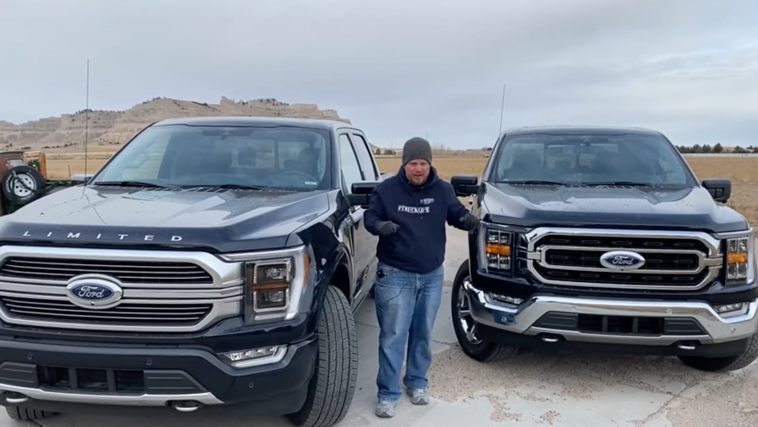 2021 Ford F-150 XLT vs Limited