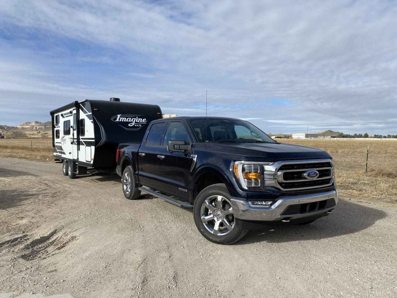 2021 Ford F-150 Hybrid towing