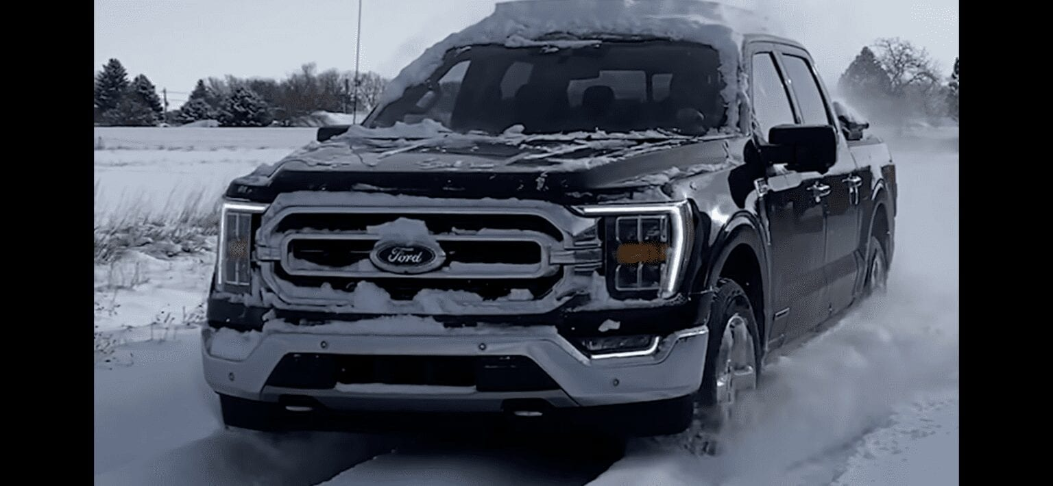 F-150 hybrid in cold weather