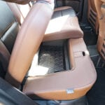 2022 Ford Bronco Sport rear seat storage cubby