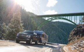 2021 F-150 Hybrid camping with onboard generator