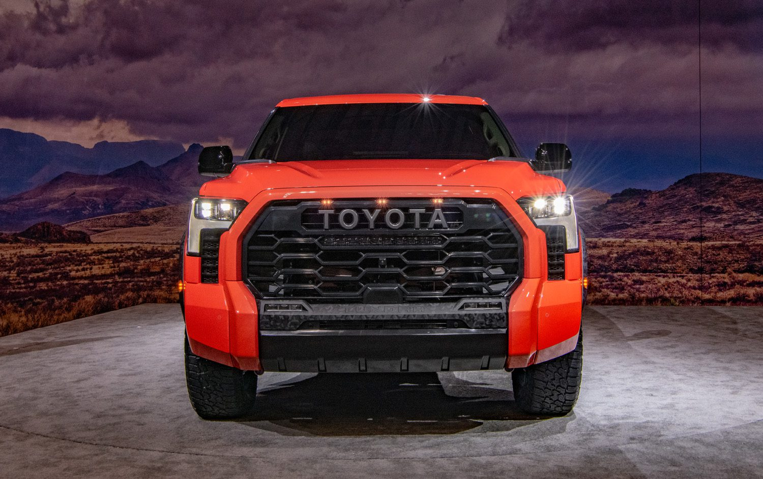 TRD Pro Tundra Grille